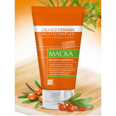 Маска для лица с пастой облепихи Orange Vitamin Multicomplex